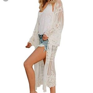 Other - ⭐️Boho Lace Duster Summer Cardigan